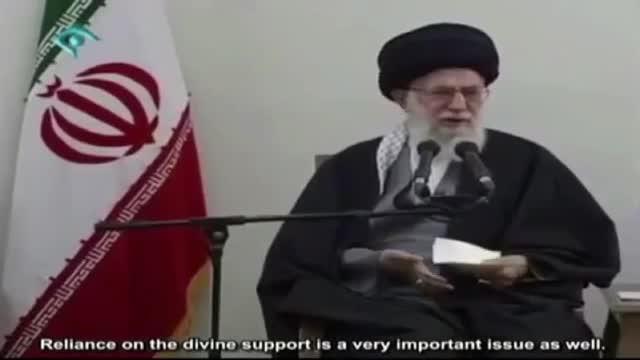 Why we should not fear!!! - Leader derives a Lesson from Moses - Farsi sub English
