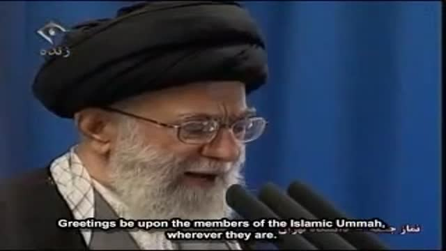 [English Sub] Ayatollah Khamenei Describes Eight Points for Uprising nations for conideration