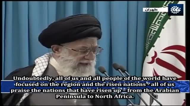 Policies awakening nations should adopt - Ayatullah Ali Khamenei - Arabic sub English