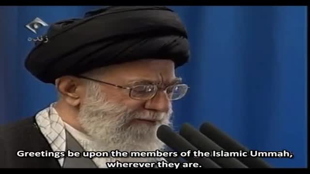 Ayatullah Khamenei describes Regional Awakening Friday sermon - Arabic sub English