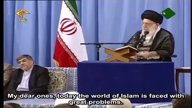 Ayatullah Khamenei describes important points for current challenges faced - Farsi sub English