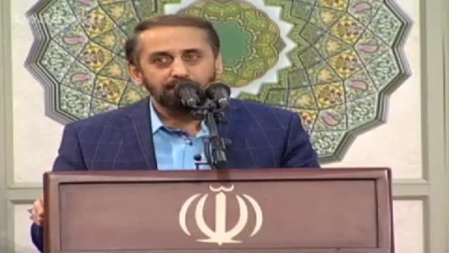 مداحی احمد واعظی در حضور رهبر انقلاب - Farsi