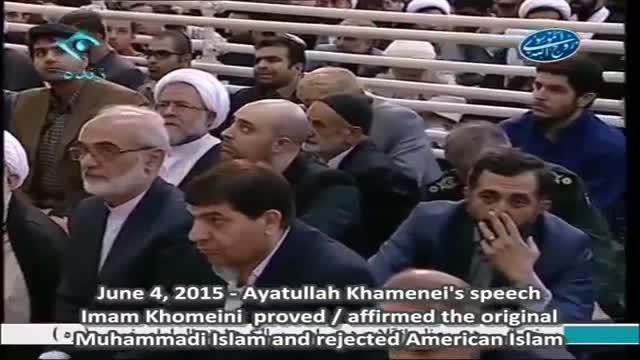 Imam Khomeini proved Original Islam and rejected Secular / Radical Islam - Ayatullah Ali Khamenei - Farsi Sub English