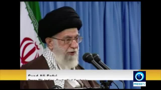 [14 Dec 2015] Reaction to Ayatollah Khameneis letter in Indian controlled Kashmir - English