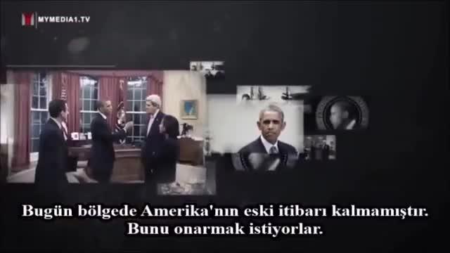 Rehber Hamaney : Bizim bölgedeki siyasetlerimiz amerika\\\'nın siyasetlerinin tam zıddıdır... - Farsi Sub Turkish