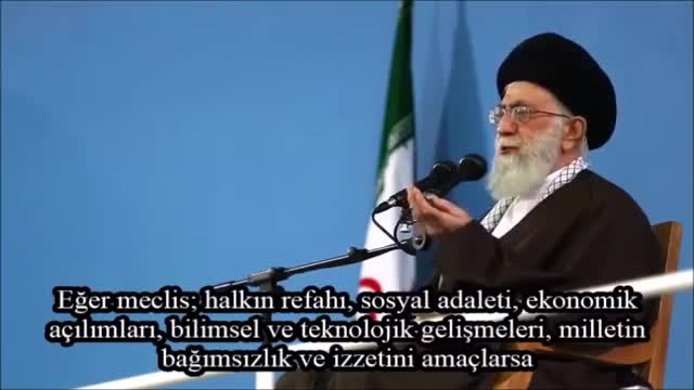 Rehber Seyyid Ali Hamaney Oy Vermenin Sorumluluğunu Anlatıyor - Farsi Sub Turkish